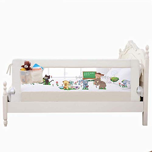 Find Discount Bed Rails Shuai Child Protection Fence Bedside Railing Folding Rail for Double Adjusta...