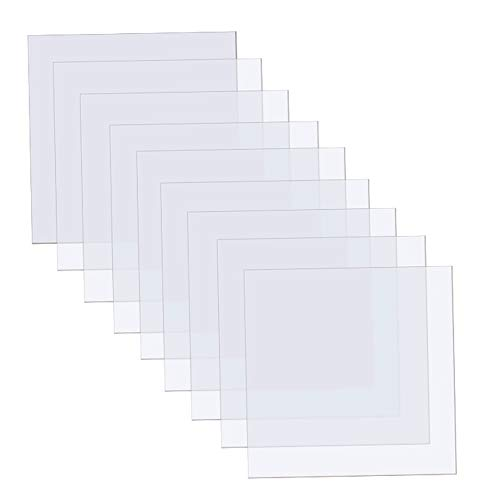 15 Pieces Blank Stencil Sheets, 12 x 12 Inch Clear Blank Material Mylar...