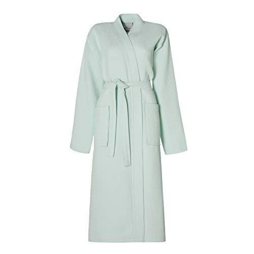 Seahorse wafle Kimono badjas Lily Green L