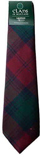 I Luv Ltd Lindsay Modern Clan 100% Wool Scottish Tartan Tie