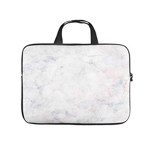 Funda para portátil con textura de mármol, duradera y con aspecto de mármol, adecuada para exteriores