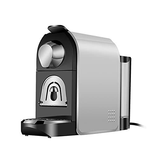 RunjinXinghe Máquina de café para Viajes en casa, Hotel pequeño, Oficina, máquina de cápsulas Compatible, Molinillo Ajustable de Capacidad programable de Acero Inoxidable Italiano au