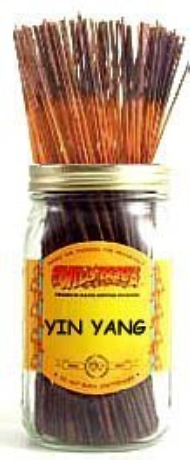 暴力的な敷居縫い目Yin Yang - 100 Wildberry Incense Sticks [並行輸入品]