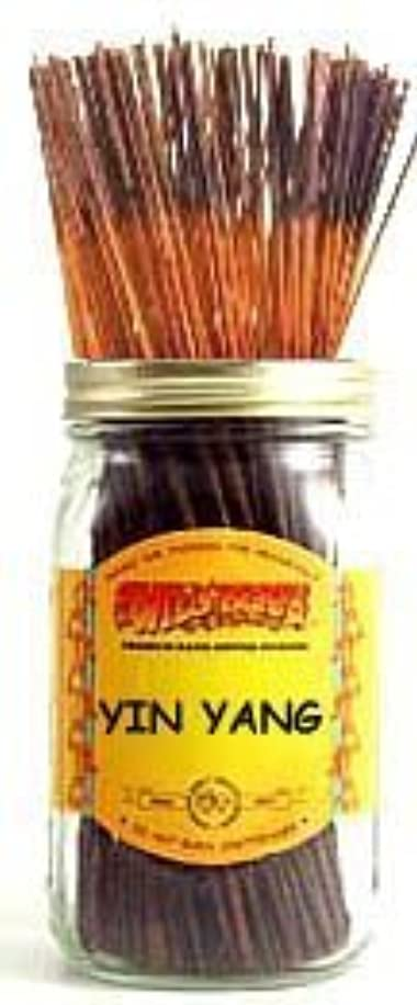 り広まったしなやかなYin Yang - 100 Wildberry Incense Sticks [並行輸入品]