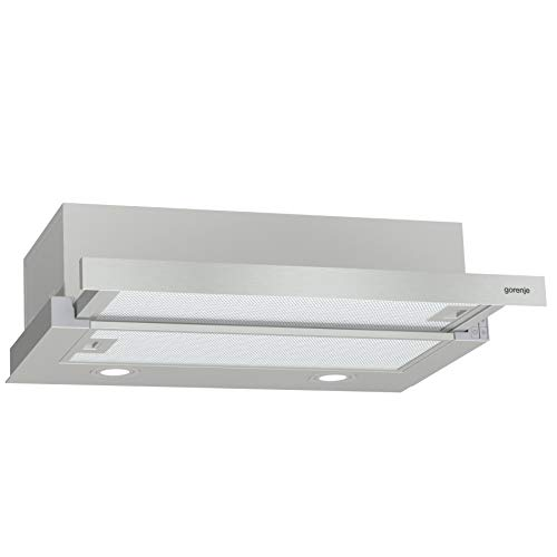 Gorenje TH62E4X Dunstabzugshaube/ LED Beleuchtung/ Polyurethanfilter/ Abluft oder Umluftbetrieb