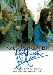 Mortal Instruments City of Bones Autograph Card A-HZI Harald Zwart