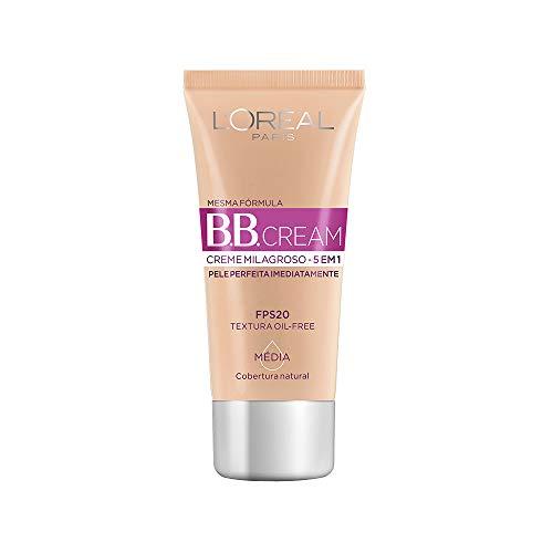 BB Cream Dermo Expertise Base Média 30ml, L'Oréal Paris, Médio, 30Ml