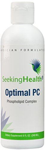 Optimal PC | 8 Ounces | Provides 5,200 mg of Blended Phospholipids (Phosphatidycholine, Phophatidylethalnolamine, and Phosphatidylinositol) | Non-Soy | Non-Gmo | Free of Common Allergens | Only PC Complex Of Its Kind! | Seeking Health