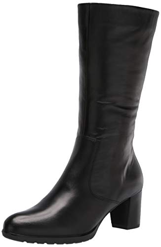 ARA Damen-Stiefel mit mittlerer Wadenhöhe, Schwarz (schwarz), 39.5 EU