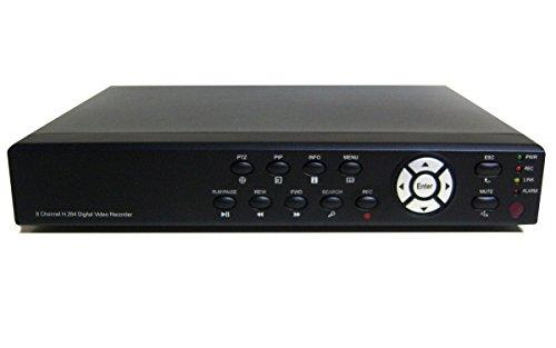 8 canales H, 264 cámara de seguridad Cctv Dvr