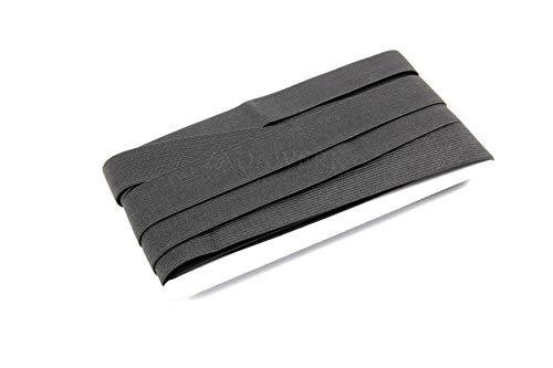 ZADAWERK® Gummiband - 3 cm x 10 m - Schwarz - elastisch, zum Nähen von Kleidung DIY