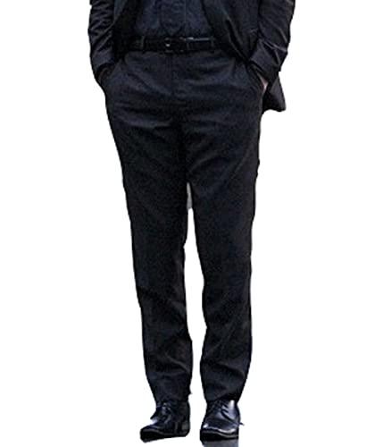 HiFacon Keanu Reeves John Wick Costume pour homme Noir - Noir - L