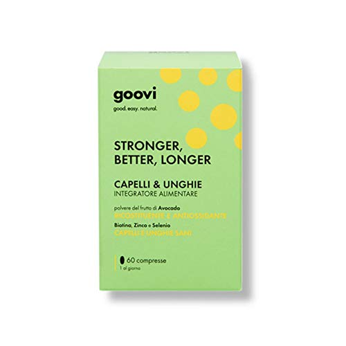 Goovi Stronger Better Longer Capelli E Unghie Integratore - 60 Compresse
