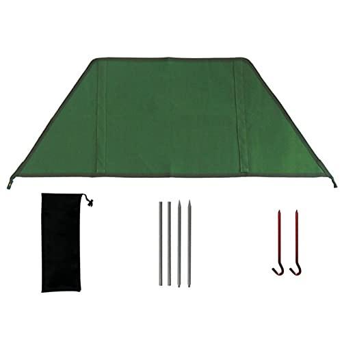 Povanjer Parabrisas Plegable para Camping Aleación, Cocina Estufa De Gas Escudo Pantalla, Viento Cortavientos Al Aire Libre para Picnic Camping Barbacoa
