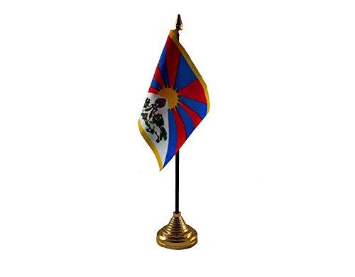 Tibet Hand Tafel of Waving Vlag Land - Geen Basis