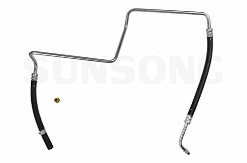 Sunsong 3401143 Power Steering Return Hose Assembly (Buick, Chevrolet, GMC, Isuzu, Oldsmobile, Saab)