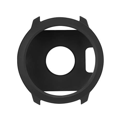 Custodia per Garmin Forerunner 645 Music, accessorio in TPU di ricambio Custodia protettiva in silicone per custodia protettiva antiurto e infrangibile per Forerunner 645/645 Music (Black 1)