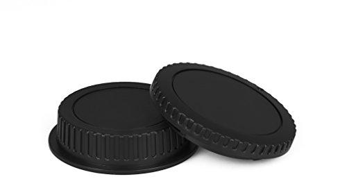 Für Canon EOS Gehäusedeckel & Objektivrückdeckel Gehäuse Deckel Kappe Body Cap