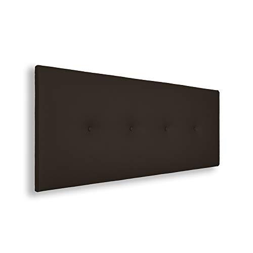 Cabeceros Cama 150 Tapizado Chocolate cabeceros cama 150  Marca Silcar Home