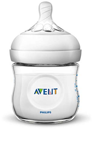 Philips Avent SCF030/17 - Biberón natural de 125 ml, transparente