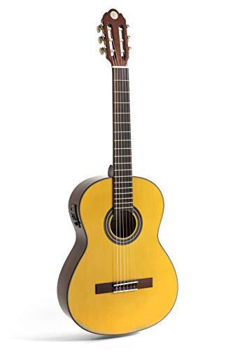 NAVARRA elektro special poppy honey NV160, guitare électro acoustique 4 4, nature