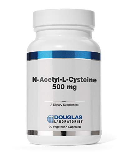 Douglas Laboratories - N-Acetyl-L-Cysteine 500 mg - Glutathione Precursor for Antioxidant Protection - 90 Capsules