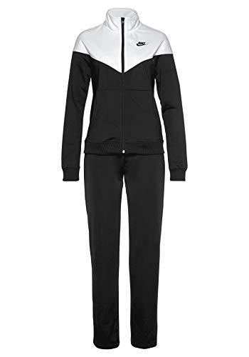 Nike NikeSportswear Women Trainingsanzug Tracksuit (L, Black/White)
