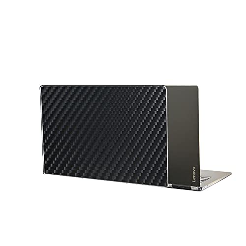 VacFun 2 Piezas Protector de pantalla Posterior, compatible con Lenovo Yoga 5 pro/Yoga 910 13.9', Película de Trasera de Fibra de carbono negra Skin Piel