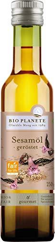 BIO PLANÉT Sesamöl geröstet, 1er Pack (1 x 250 ml)