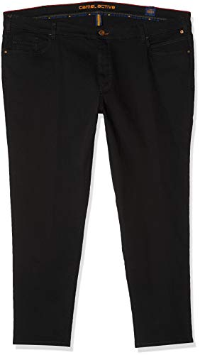 Camel Active Herren Straight Jeans, Schwarz(Forever Black 9), 36W / 30L