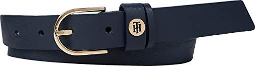 Tommy Hilfiger Classic Belt 2.5 Cinturón, Desert Sky, 80 para Mujer