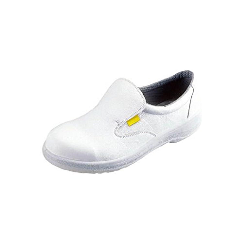 シモン 静電安全靴 短靴 7517白静電靴 25.0cm 7517WS-25.0