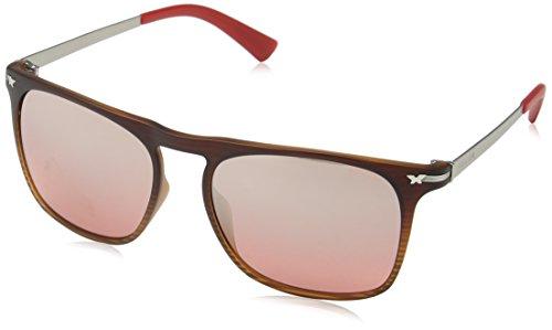 Police Herren S1956 Sonnenbrille, Rot (RED Grad.BEIGE), Einheitsgröße