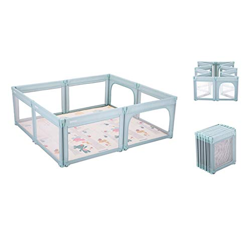 Lowest Prices! GaoYunQin Baby Playpen, Foldable Indoor Children's Activity Center, Crawling Playgrou...