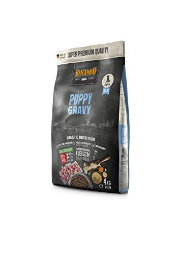 Belcando Puppy Gravy Welpenfutter | Trockenfutter für Welpen | Alleinfuttermittel für Welpen bis 4 Monate (4 kg)