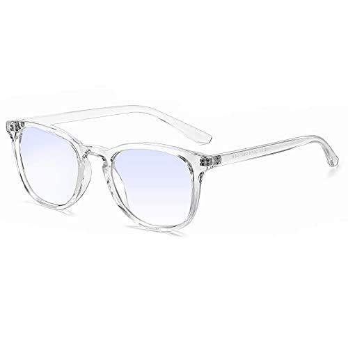 SCOBUTY Blaulichtfilterbrillen,Blaue Licht Brille,Bildschirm Brille,Computer Laptop Gaming Brillen,Gaming Brille,Brille mit Blaulichtfilter,Linderung von augenbelastung,Unisex