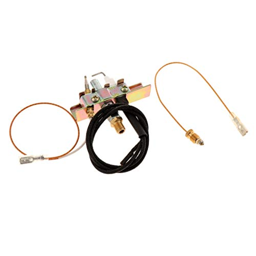 SDENSHI Copper Heating Valve One in Two Gas Valve Outlet with