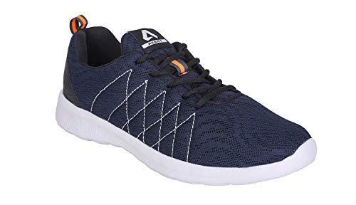 AVANT Men's Ultra Light Running and Training Shoes - Navy Blue, UK 6