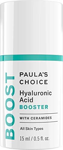 Paula's Choice Booster Acide Hyaluronique Sérum - Anti Âge Hydratant Visage pour la Peau Déshydratée - Réduit les Rides - avec Céramides & Panthénol - Tous Types de Peaux - 15 ml