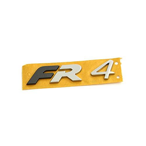 Seat 5FE853670AUTZ Logo Formula Racing Tuning emblema gris metálico mate