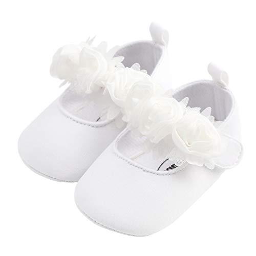Toyvian Zapatos de Baile de Suela Blanda para bebés Zapatos de Vestir...