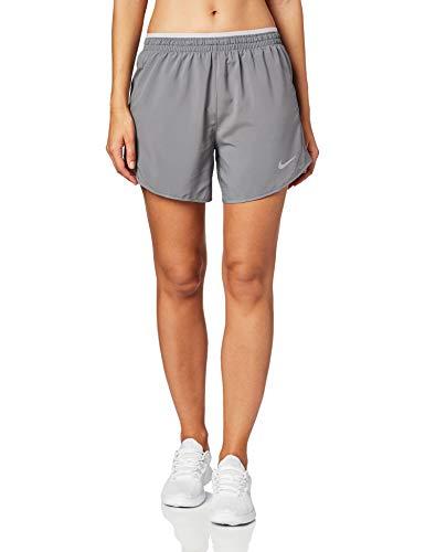 """Nike Damen Shorts Tempo LX 5"""", Gunsmoke/Atmosphere Grey/Reflective Silver, S, BV2953-056"""