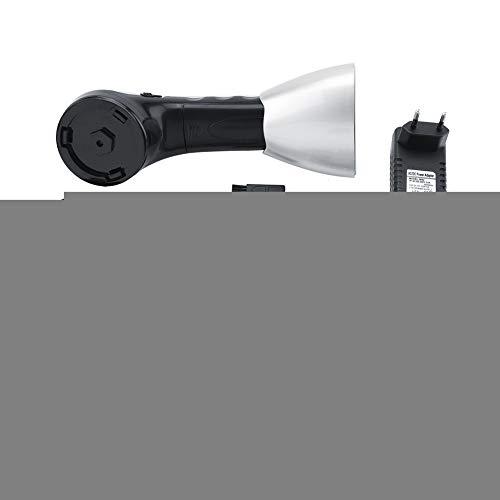 Jadpes Cepillo para Zapatos Zapatos, s Pulidora de Calzado Manual, Cepillo eléctrico automático para Calzado Pulidora de Brillo Manual Batería o Enchufe Alimentación 220V Enchufe