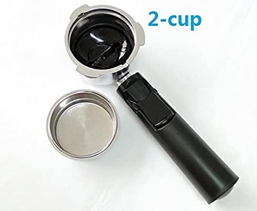 100% New51mm ciśnieniowy uchwyt do kawy Portafilter do profesjonalnego ekspresu do kawy (Color : 2)