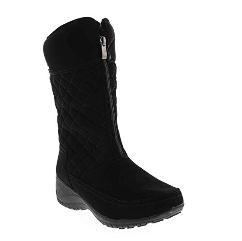 Khombu K-Laura 001 Snow Boot Black in Size 7
