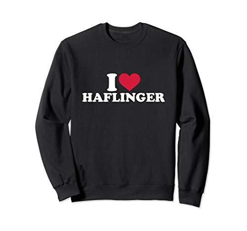 Ich liebe Haflinger Sweatshirt