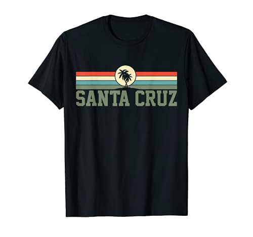 Santa Cruz Kalifornien Souvenir Retro 80er T-Shirt