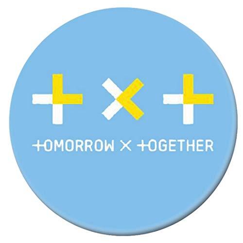 dfhdrtj Rare Collection und Dekorative Geschenke für Fans Round Badge Badge Badge Korean New Idol Team von TXT Brooch(H10)
