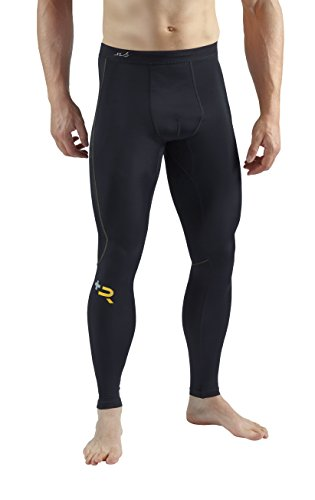 Sub Sports Herren Elite R Plus Kompressions-Leggings, erholsame Wirkung schwarz schwarz xs