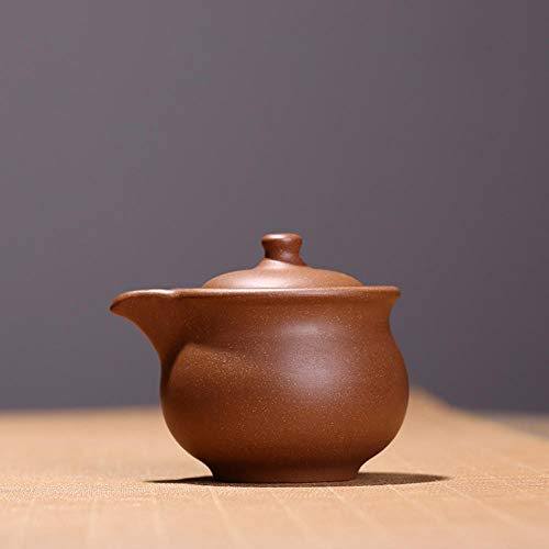Zisha Teapot Travel Size, A Pot, A Lazy Tea Cup, A Fair Cup, A Teapot Dual Purpose